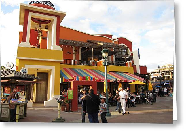Downtown Disney Anaheim - 12126 Greeting Card by DC Photographer