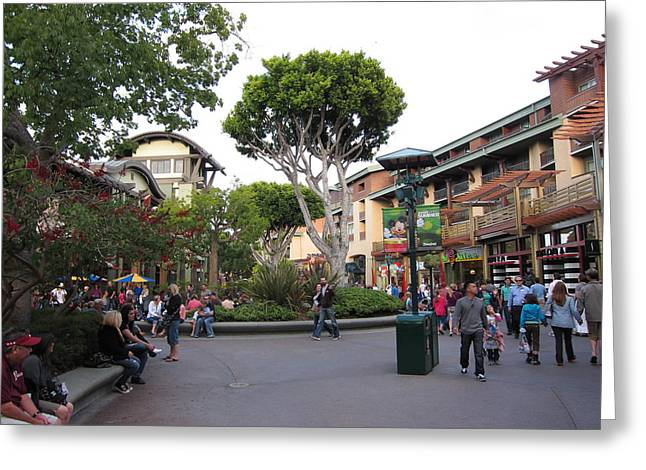 Anaheim Greeting Cards - Downtown Disney Anaheim - 12128 Greeting Card by DC Photographer
