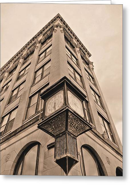 James Findley Greeting Cards - Downtown  Greeting Card by JC Findley