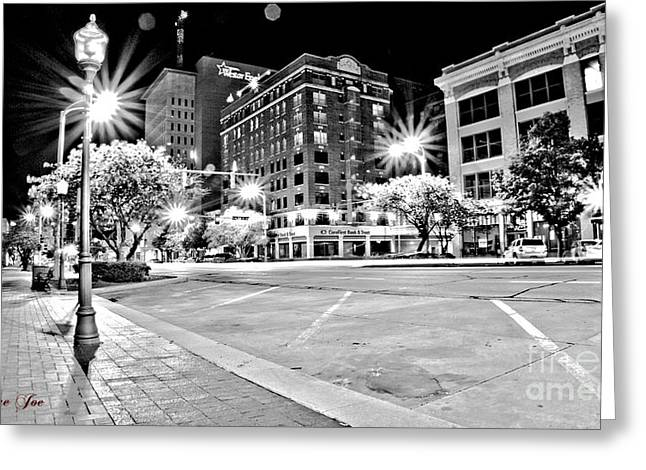 Lame Greeting Cards - Downtown  Greeting Card by Joe Russell