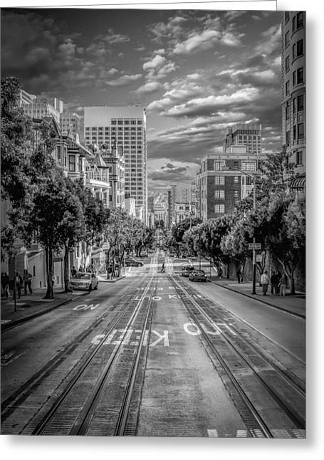 Center City Greeting Cards - Downtown San Francisco II Greeting Card by Erik Brede
