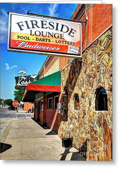 Rally Greeting Cards - Downtown Sturgis 2 Greeting Card by Mel Steinhauer