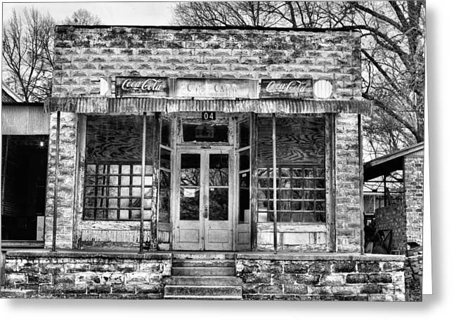 Grocery Store Greeting Cards - Downtown Taylor Greeting Card by JC Findley