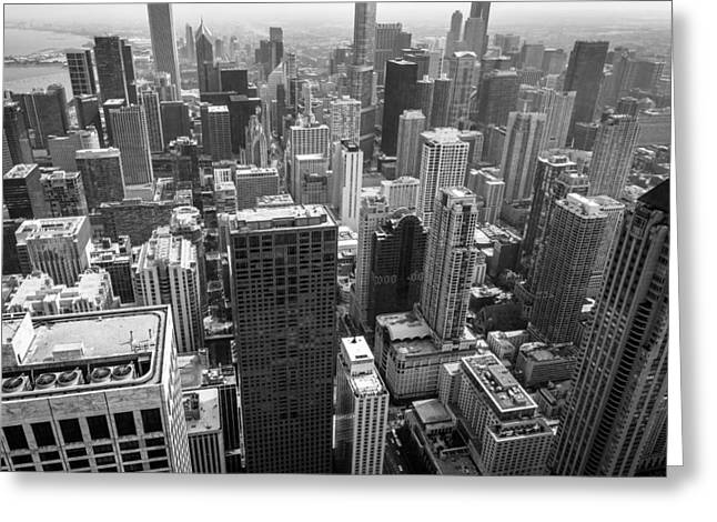 View. Chicago Greeting Cards - City Tetris Greeting Card by Clay Townsend