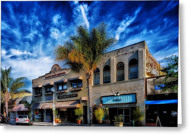 Ventura California Greeting Cards - Downtown Ventura Greeting Card by Mountain Dreams