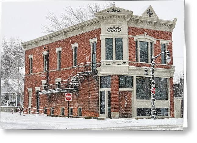 Downtown Whitehouse  7031 Greeting Card by Jack Schultz