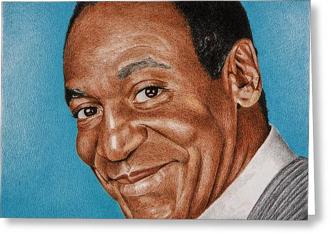Comedian Greeting Cards - Dr Huxtable Greeting Card by Brian Broadway