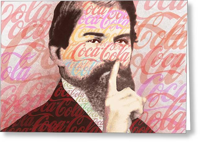 Dr. John Pemberton Inventor Of Coca-cola Greeting Card by Tony Rubino
