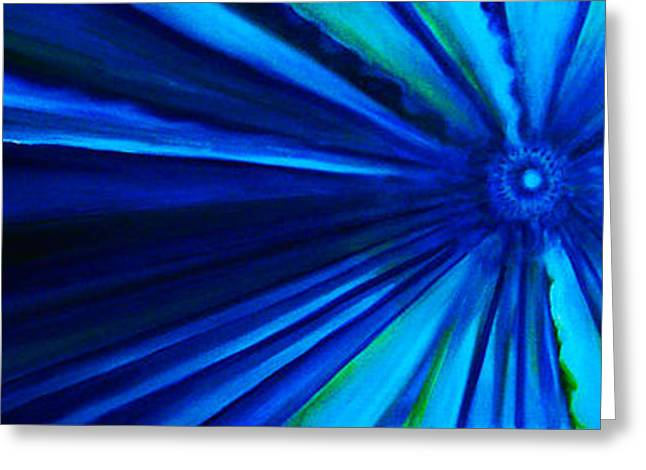 Passion Fruit Paintings Greeting Cards - Dr Who Vortex Greeting Card by Donna Chaasadah