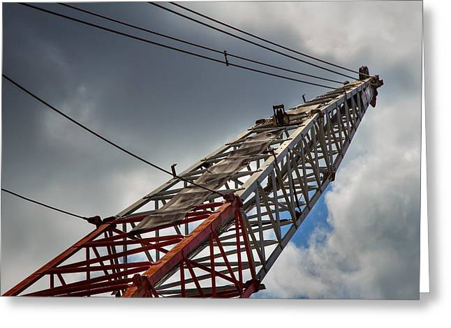 Dredge Greeting Cards - Dragline 553 Greeting Card by Rudy Umans