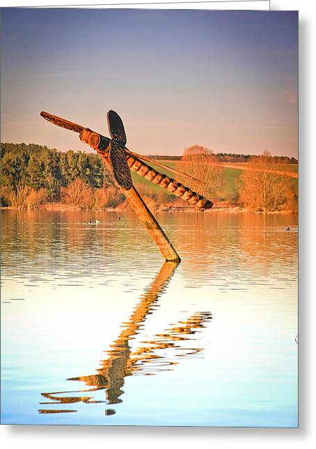 Northamptonshire Greeting Cards - Dragonfly  Greeting Card by Bob Caddick
