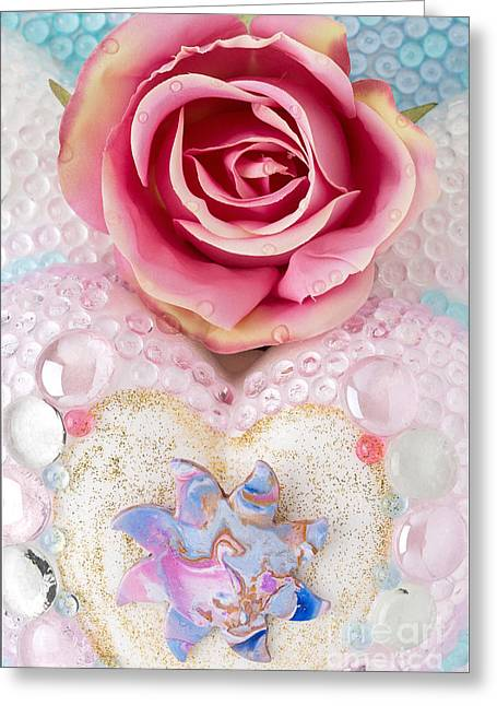 Rose Reliefs Greeting Cards - Dragonsun Detail No. 2 Greeting Card by Heidi Sieber