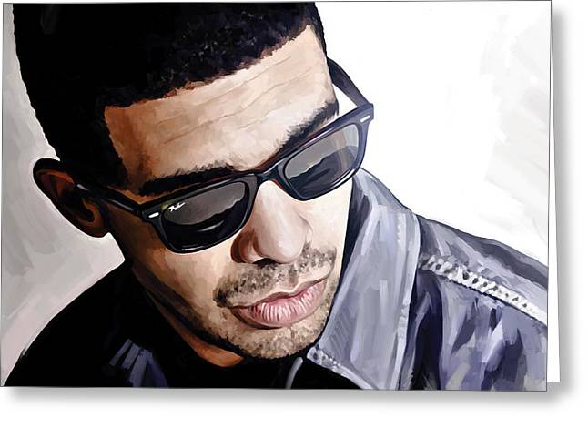 Drake Artwork 1 Greeting Card by Sheraz A