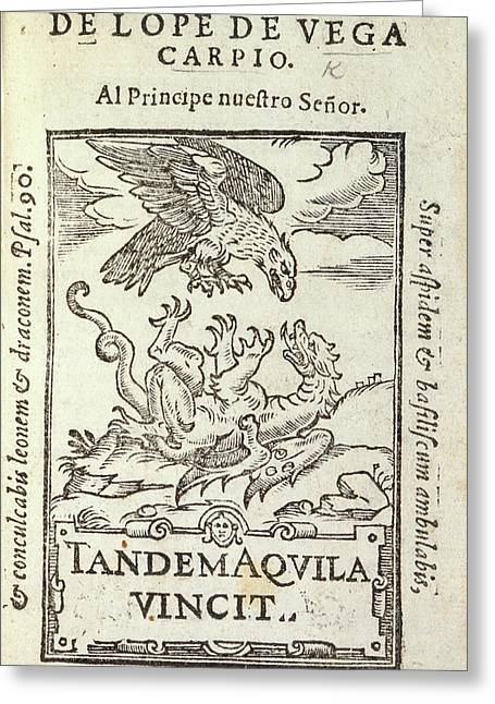 Drake-dragon Greeting Card by British Library