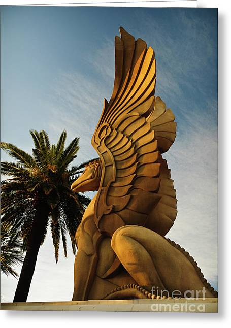 Creative Photography Pictures Greeting Cards - Drakon Greeting Card by Charles Dobbs