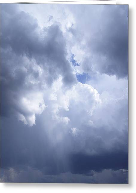 Firmament Greeting Cards - Dramatic Cloudy Sky Greeting Card by Donald  Erickson