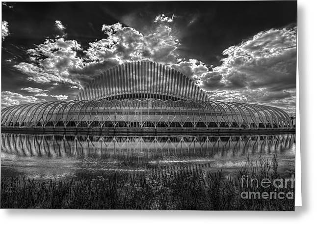 Dark Skies Photographs Greeting Cards - Dramatic Sky Greeting Card by Marvin Spates