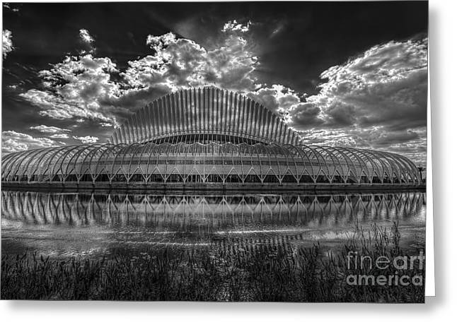 Reflecting Water Greeting Cards - Dramatic Sky Greeting Card by Marvin Spates