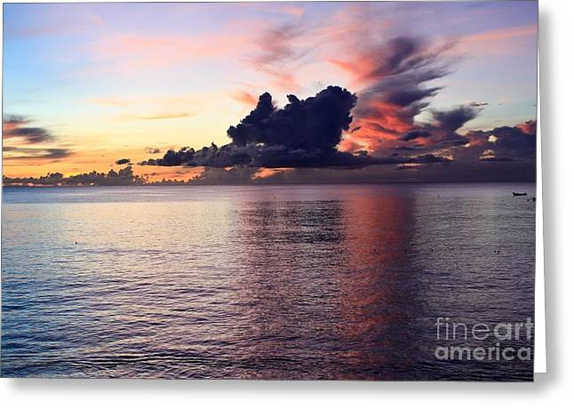 """sunset Photography"" Greeting Cards - Dramatic Sunset Greeting Card by Sophie Vigneault"