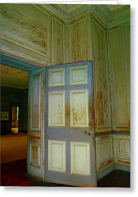 Unrestored Greeting Cards - Drayton Hall 13 Greeting Card by Ron Kandt