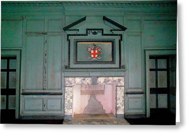 Unrestored Greeting Cards - Drayton Hall 18 Greeting Card by Ron Kandt
