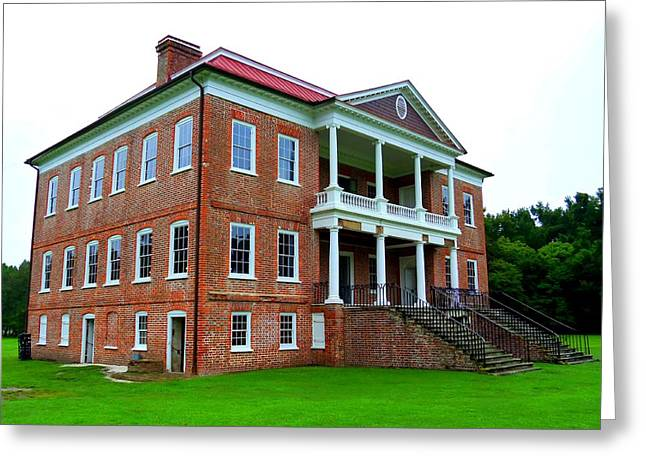 Unrestored Greeting Cards - Drayton Hall 22 Greeting Card by Ron Kandt