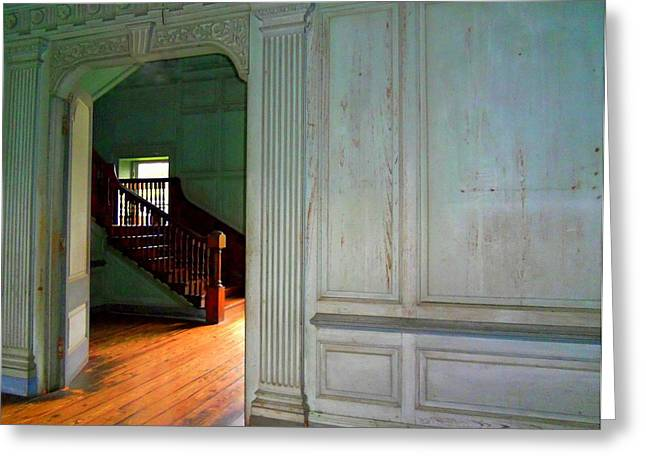 Unrestored Greeting Cards - Drayton Hall 5 Greeting Card by Ron Kandt