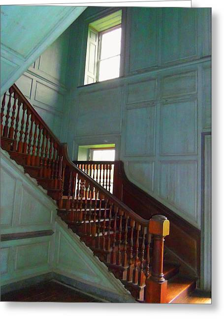 Basement Greeting Cards - Drayton Hall 6 Greeting Card by Ron Kandt
