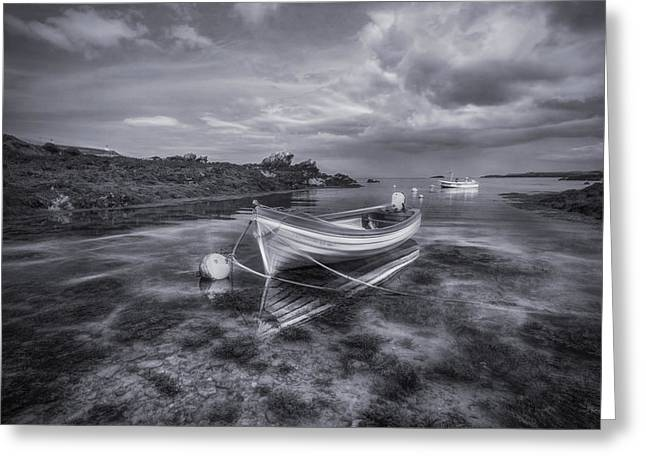 Dreams Free Greeting Cards - Dream Boat Greeting Card by Ian Mitchell