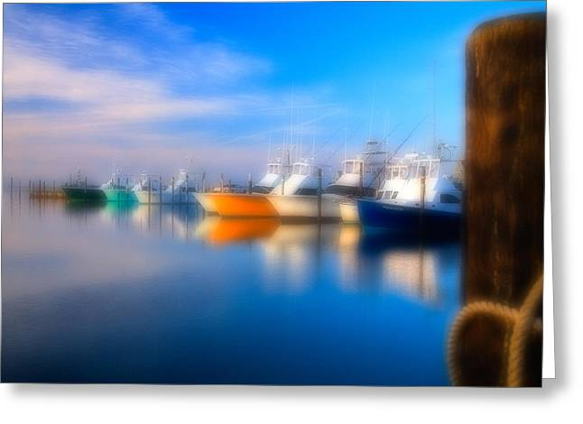North Carolina Wall Art Greeting Cards - Dream Boats - Outer Banks Greeting Card by Dan Carmichael