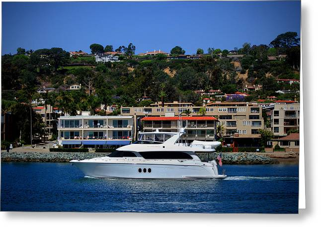 San Diego Harbor Cruise Greeting Cards - Dream Came True Greeting Card by See My  Photos
