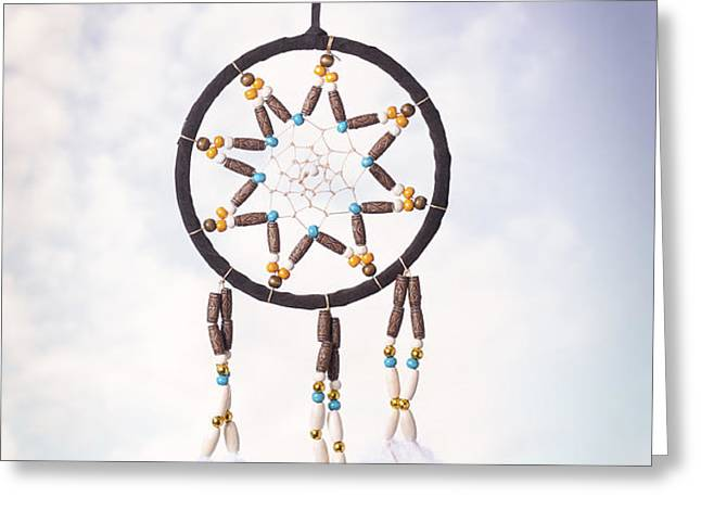 Dream Catcher Greeting Card by Amanda And Christopher Elwell