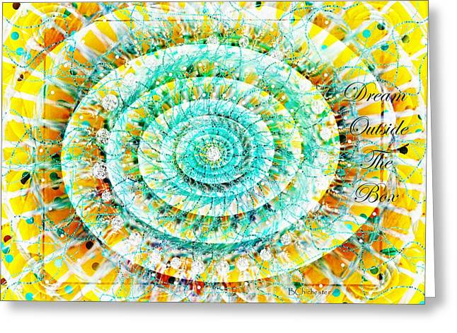 The American Dream Digital Art Greeting Cards - Dream Catcher Series No 2 Greeting Card by Barbara Chichester