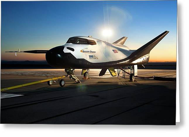 Dream Chaser Spaceplane Testing Greeting Card by Nasa