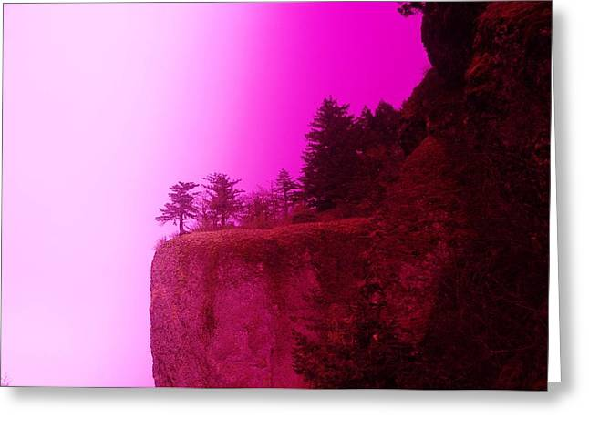Ledge Greeting Cards - Dream Cliff Greeting Card by Jeff  Swan