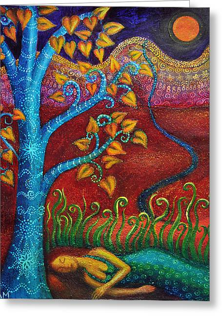 Best Sellers -  - Empowerment Greeting Cards - Dream in Autumn Greeting Card by Alice Mason