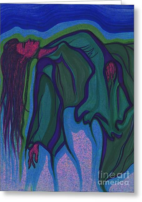 Subconscious Greeting Cards - Dream in Color 1 by jrr Greeting Card by First Star Art