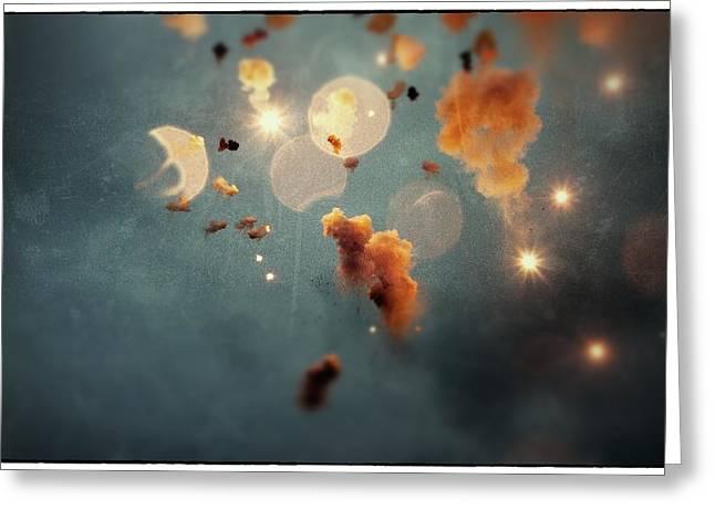 Feuerwerk Greeting Cards - Dream Mascleta Valencia Greeting Card by For Ninety One Days