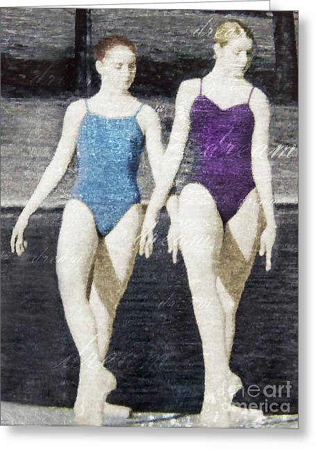 Dream Of Dance Greeting Card by Deborah Smith