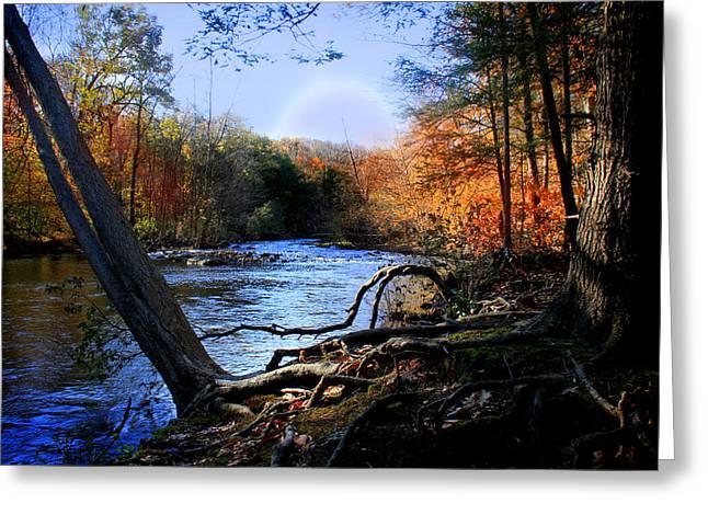 Dream River Greeting Card by Mark Ashkenazi