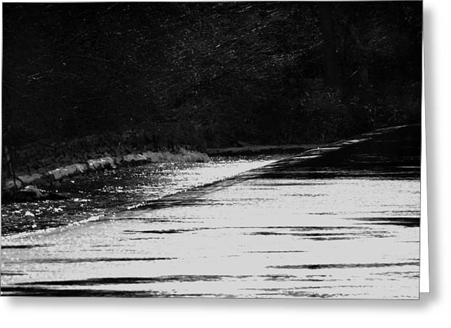 Fox River Greeting Cards - Dream River Greeting Card by Thomas Young