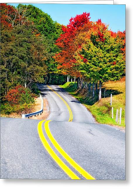 Road Travel Greeting Cards - Dream Road Greeting Card by Steve Harrington