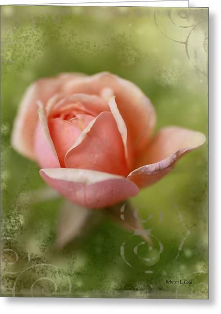 Dream Rose Greeting Card by Bellesouth Studio