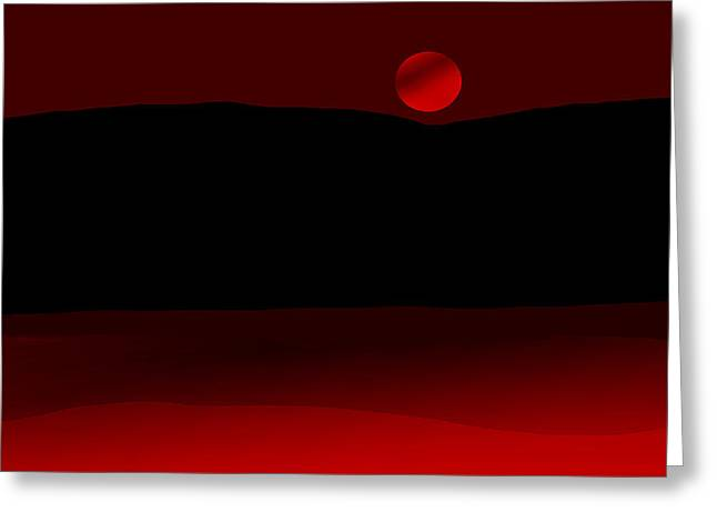 Dream Scape Digital Greeting Cards - Dream Scapes Series Two Greeting Card by Sir Josef  Putsche Social Critic