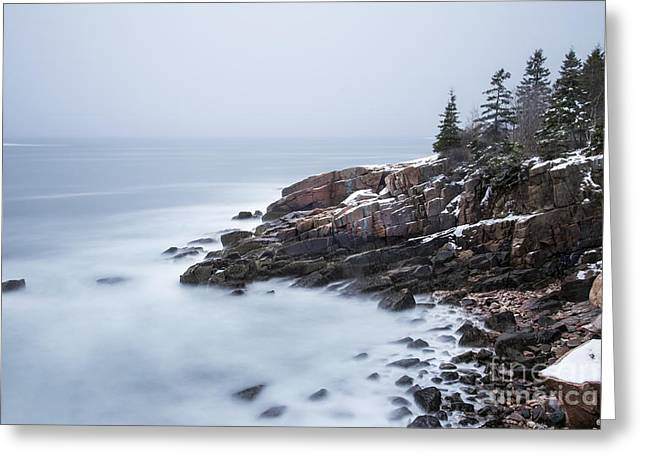 New England Coast Greeting Cards - Dream State Greeting Card by Evelina Kremsdorf