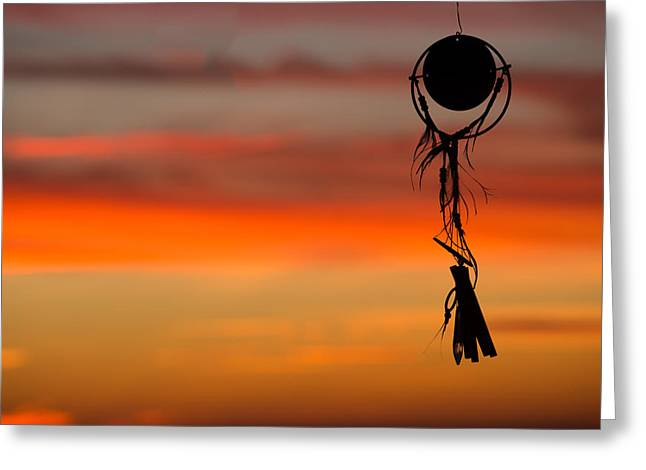 Amulets Greeting Cards - Dream until  Dusk Greeting Card by Peter Tellone