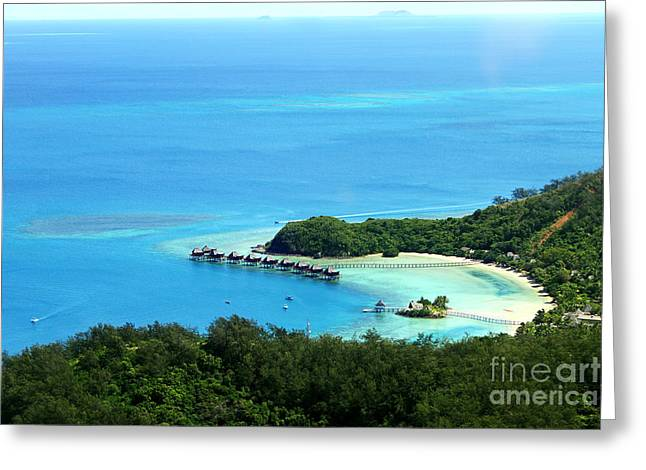 Pacific Islands Greeting Cards - Dream Vacations Greeting Card by Lars Ruecker