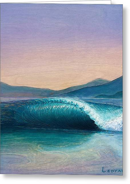 California Reliefs Greeting Cards - Dream Wave Greeting Card by Nathan Ledyard