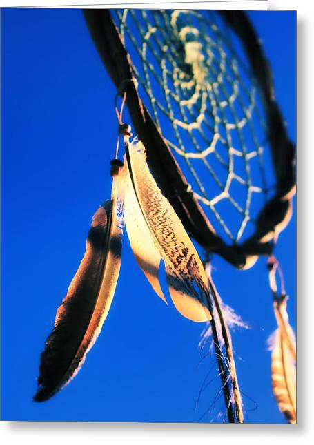 Bad Dreams Greeting Cards - Dreamcatcher Greeting Card by Mountain Dreams