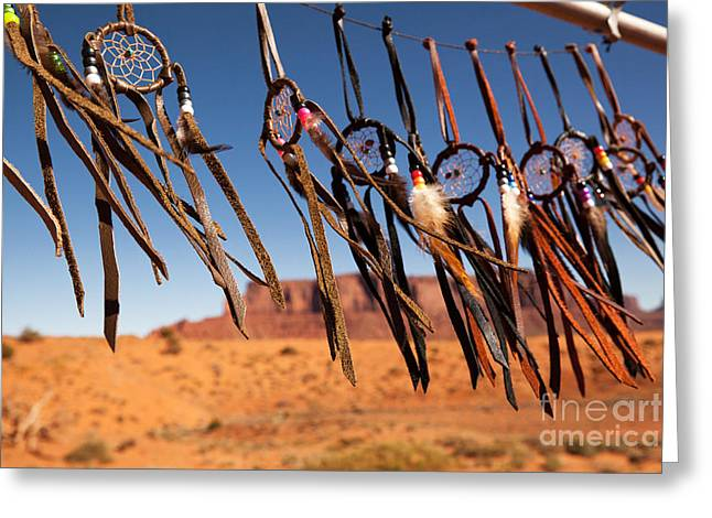 Native Stone Greeting Cards - Dreamcatchers Greeting Card by Jane Rix